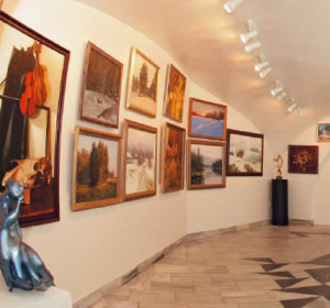 галерея русский лес